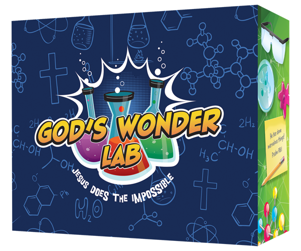 God's Wonder Lab - VBS Starter Kit